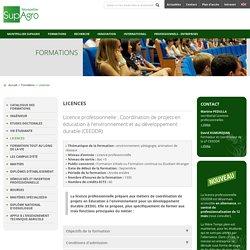 Montpellier SupAgro : Centre International d'études supérieures en sciences agronomique de Montpellier