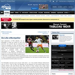 De Lille à Montpellier - Tableau Noir