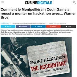 Comment le Montpelliérain CodinGame a réussi à monter un hackathon avec... Warner Bros