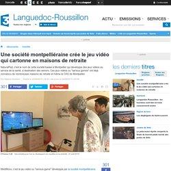 Une société montpelliéraine crée le jeu vidéo qui cartonne en maisons de retraite - France 3 Languedoc-Roussillon
