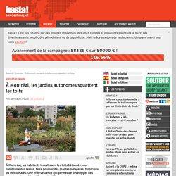 À Montréal, les jardins autonomes squattent les toits