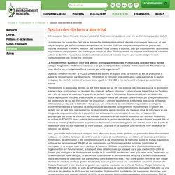 Conseil régional de l'environnement de Montréal