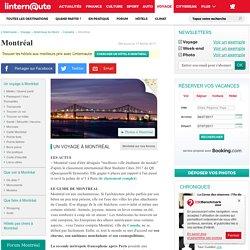 Montréal - Guide de voyage - Tourisme