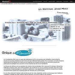 Ville de Montréal – Centre d'histoire de Montréal – Habitations Jeanne-Mance - Pour en savoir plus