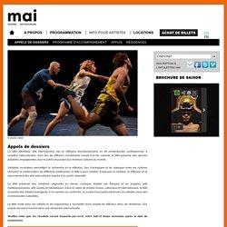 MAI (Montréal, arts interculturels): Appels de dossiers