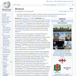 Montreal wiki