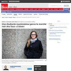 Une étudiante montréalaise perce le marché noir des faux «J'aime»