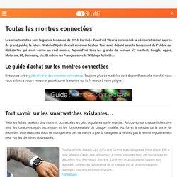 Tout savoir sur les montres connectées (smartwatch)