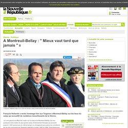 A Montreuil-Bellay : Mieux vaut tard que jamais - 30/10/2016