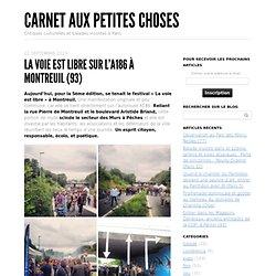 La voie est libre sur l'A186 à Montreuil (93)