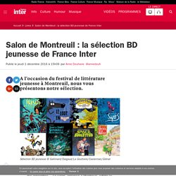 Salon de Montreuil : la sélection BD jeunesse de France Inter