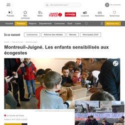 Montreuil-Juigné. Les enfants sensibilisés aux écogestes