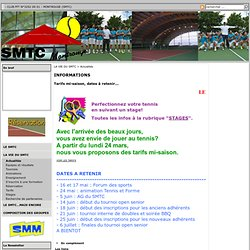 MONTROUGE (SMTC) - BONNES VACANCES
