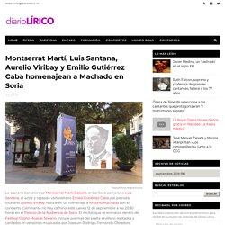 Montserrat Martí, Luis Santana, Aurelio Viribay y Emilio Gutiérrez Caba homenajean a Machado en Soria - Diario Lírico