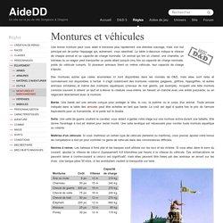 Montures et véhicules » Donjons & Dragons 5 - D&D 5