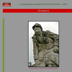 monument aux morts de Beaugency (Loiret)