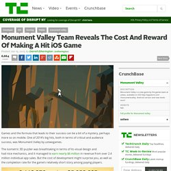 Monument Valley Team Reveals The Cost And Reward Of Making A Hit iOS Game