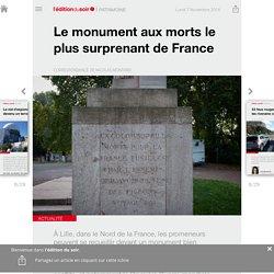 Le monument aux morts le plus surprenant de France