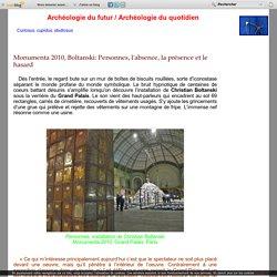 Monumenta 2010, Boltanski: Personnes, l'absence, la présence et le hasard