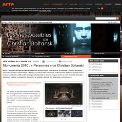 Monumenta 2010 : « Personnes » de Christian Boltanski