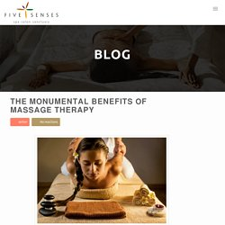 Monumental Benefits Massage Therapy