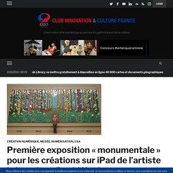 Première exposition «monumentale» pour les créations sur iPad de l'artiste britannique David Hockney