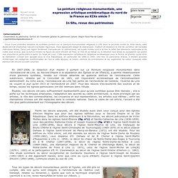 In Situ - N° - La peinture religieuse monumentale, une expression artistique emblématique du nord de la France au XIXe siècle?