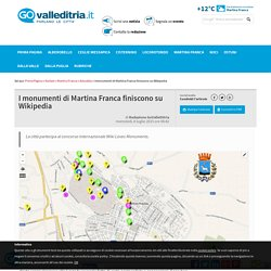 I monumenti di Martina Franca finiscono su Wikipedia - Attualità Valle d'Itria