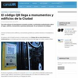 El código QR llega a monumentos y edificios de la Ciudad