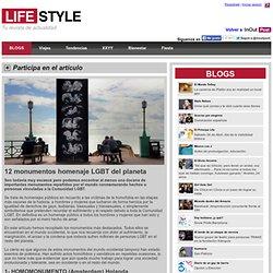 12 monumentos homenaje LGBT del planeta