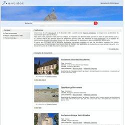 Monuments historiques - Accueil