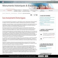 Monuments historiques - Monuments historiques & Espaces protégés