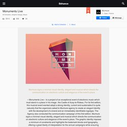 Monuments Live on Behance