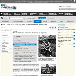 Les monuments aux morts, mémoire de la guerre - 1918, la Grande Guerre s'achève... - Dossiers