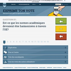Compare ton vote GPE