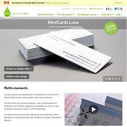 MiniCards Luxe par MOO