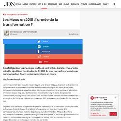 Les Mooc en 2018 : l'année de la transformation ?
