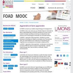 MOOC Apprendre et faire apprendre FOAD