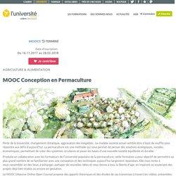 MOOC Conception en Permaculture