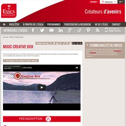 MOOC Creative Box - ESSCA