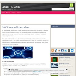 MOOC, cursos abiertos en línea