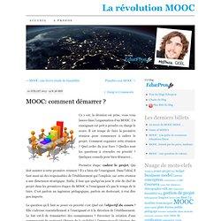 MOOC: comment démarrer ?