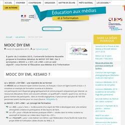 MOOC DIY EMI