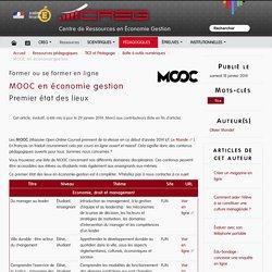 MOOC en économie gestion