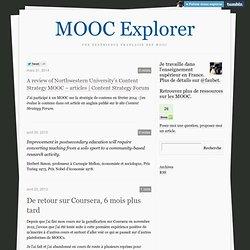 MOOC Explorer