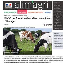 MOOC: se former au bien-être des animaux d'élevage