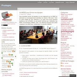 Un MOOC pour former ses équipes
