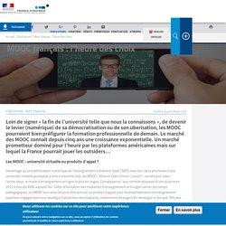 MOOC français : l'heure des choix