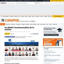 Les MOOC incontournables de la rentrée