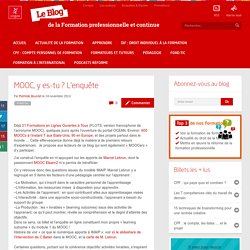 MOOC, y es-tu ? L'enquête